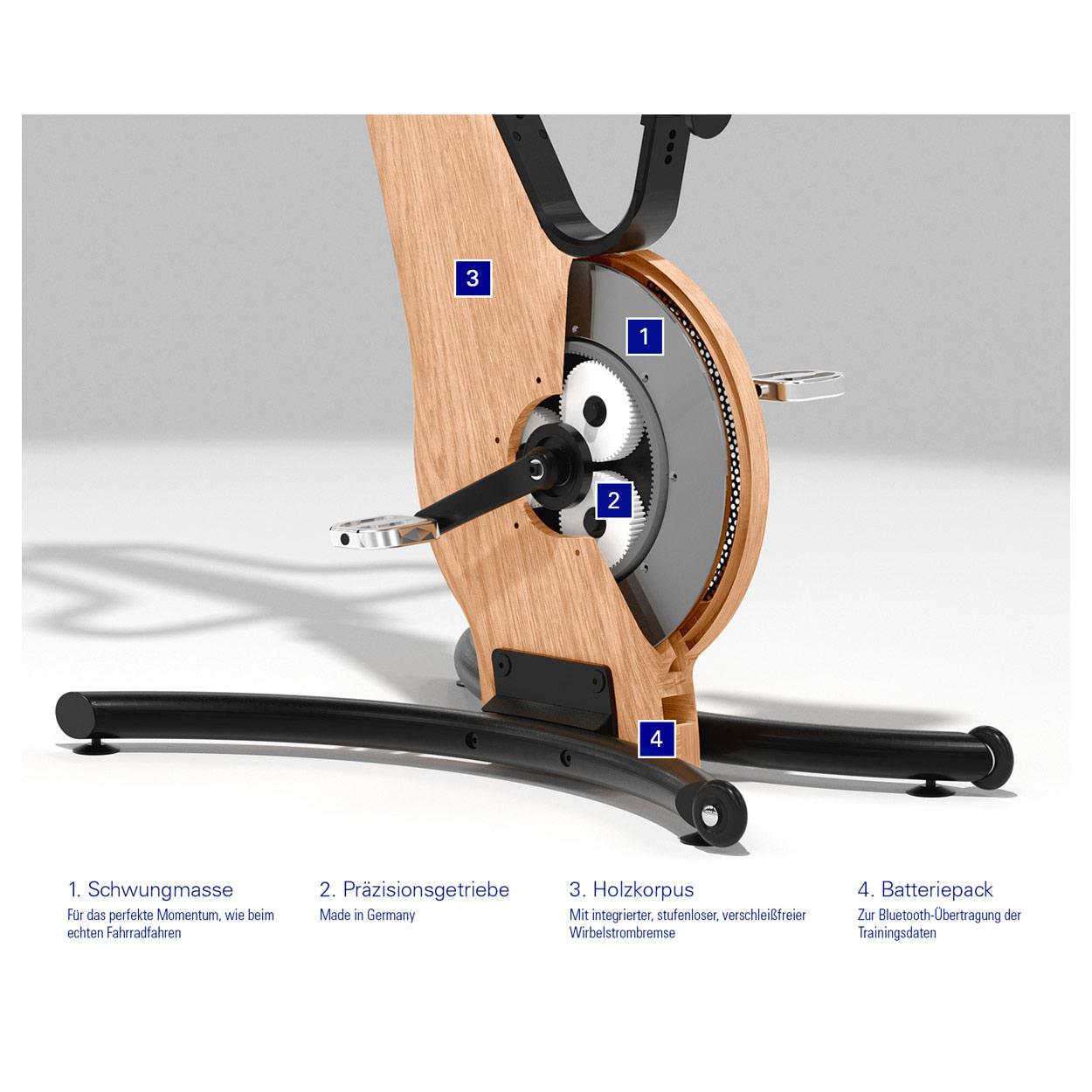 NOHrD Bike Komfort-Sattel