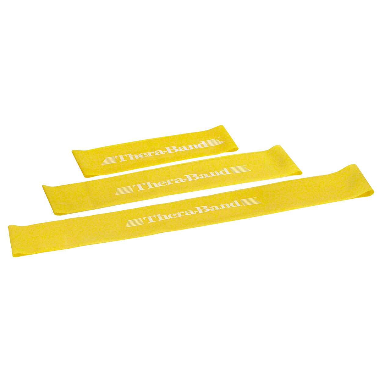 Thera-Band Loop, Ø 13 cm, 7.6x20.5 cm, lightweight, yellow - Sport ...