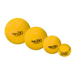 VOLLEY foam ball uncoated, Ø 19 cm, yellow