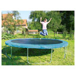 Garden trampoline fun 24 set, trampoline Ø 2.4 m incl. Safety net