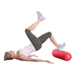 TOGU Pilates multi roll, Ø 18x80 cm, red