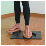 Physio flip rotation trainer incl. handle, set 2-pcs.