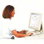 Therapy disc Gymtop USB incl. Professional software