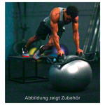 HELM stability trainer for BOSU Balls