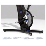 NOHrD bike ergometer shadow