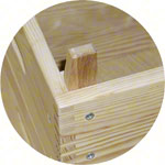 Vaulting boxes, LxWxH 150x50x110 cm, 5 pieces.