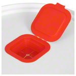 Plastic dispenser bucket for storage of Sport-Tec disinfection wipes 400 and 800 sheets