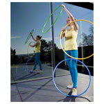 Gymnastic hoops made of plastic, Ø 70 cm, 340 g