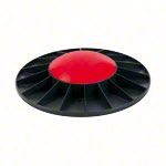 TOGU Balance Board Ballanzza, Ø 40 cm, lightweight, black / red