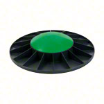 TOGU Balance Board Ballanzza, Ø 40 cm, medium, black / green