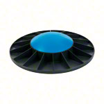 TOGU Balance Board Ballanzza, Ø 40 cm, heavy, black / blue