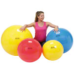 GYMNIC exercise ball, Ø 55 cm, red