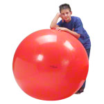 GYMNIC exercise ball, Ø 120 cm, red