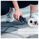 Sport-Tec speed rope with non-slip handles incl. 2 weights