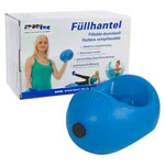 Colt dumbell, can be filled up to 5 kg, one piece