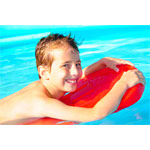 Swimming board with handle small, 40x27x3.5 cm