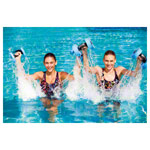 BECO Aqua Dumbbell L, pair