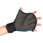 BECO neoprene gloves with finger hole, size S, pair, turquoise