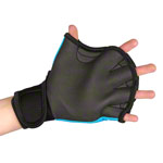 BECO neoprene gloves with finger hole, size L, pair, blue