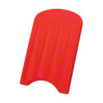 Swimming board, 47x30x4 cm, red