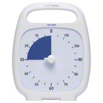 Time Timer Plus Table Clock with acoustic signal, 120 Min., 14x18 cm