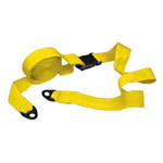Wall-mounting strap standard, 4 m,