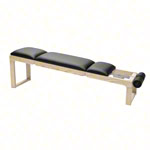 NOHrD Abdominal and Back Trainer Triatrainer, ash, pleather