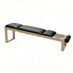 NOHrD Abdominal and Back Trainer Triatrainer, cherry, pleather