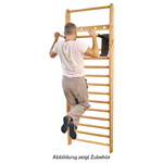 NOHrD multi-adapter pull up bar and dip station for wall bars