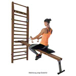 NOHrD Combi-Trainer for wall bars, nut tree