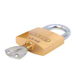 Security padlock, with 2 keys