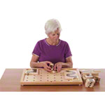 Pertra suitcase dementia & brain training Set I, 144-part