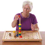 Pertra suitcase dementia & brain training Set II, 218-part