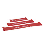Thera-Band Loop, Ø 26 cm, 7.6x45.5 cm, medium, red