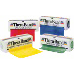 Thera-Band, 5.50 m x 12.8 cm, specially thick, black