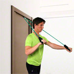 Shoulder Tube Pulley set, strong, green