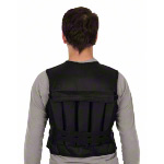 Weight vest standard with 9 weight bags, 10 kg
