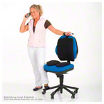 TOGU seat cushion Airgo active with needle pump