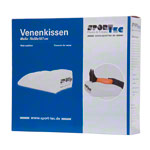 Vein cushions inflatable, LxWxH 70x50x19 / 7 cm, white