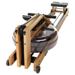WaterRower rowing machine oak, incl. S4 Monitor, heart rate receiver, chest strap POLAR T31 and floor mat, set 4-pcs.