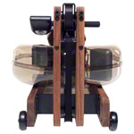 WaterRower rowing machine nut tree incl. S4 Monitor, heart rate receiver, chest strap POLAR T31 and floor mat, set 4-pcs.