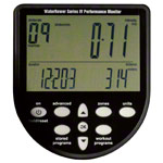 WaterRower rowing machine Club-Sport, incl. S4 Monitor, Heart rate receiver and chest strap POLAR T31, set 3-pcs.