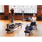 WaterRower rowing machine M1 HiRise, metal, incl. S4 Monitor
