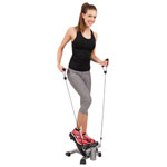 KETTLER 2 in 1 stepper, incl. pull ropes