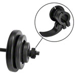 pumpset! -barbell set 20 kg, 9-piece