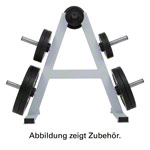 Weight Plate Rack with 6 holders Ø 30.5 mm