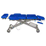 Treatment Table Solid A6 Dynamic according to Dr. Ackermann, 195x52x49-96 cm