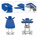 Therapy couch Smart ST4 with wheel lifting system and all-round control