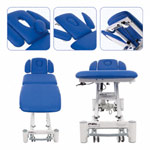 Therapy couch Smart ST5 with wheel lifting system and all-round control