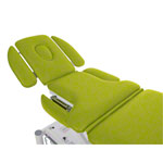 Therapy couch Smart ST5 DS roof position, wheel lifting system and all-round control
